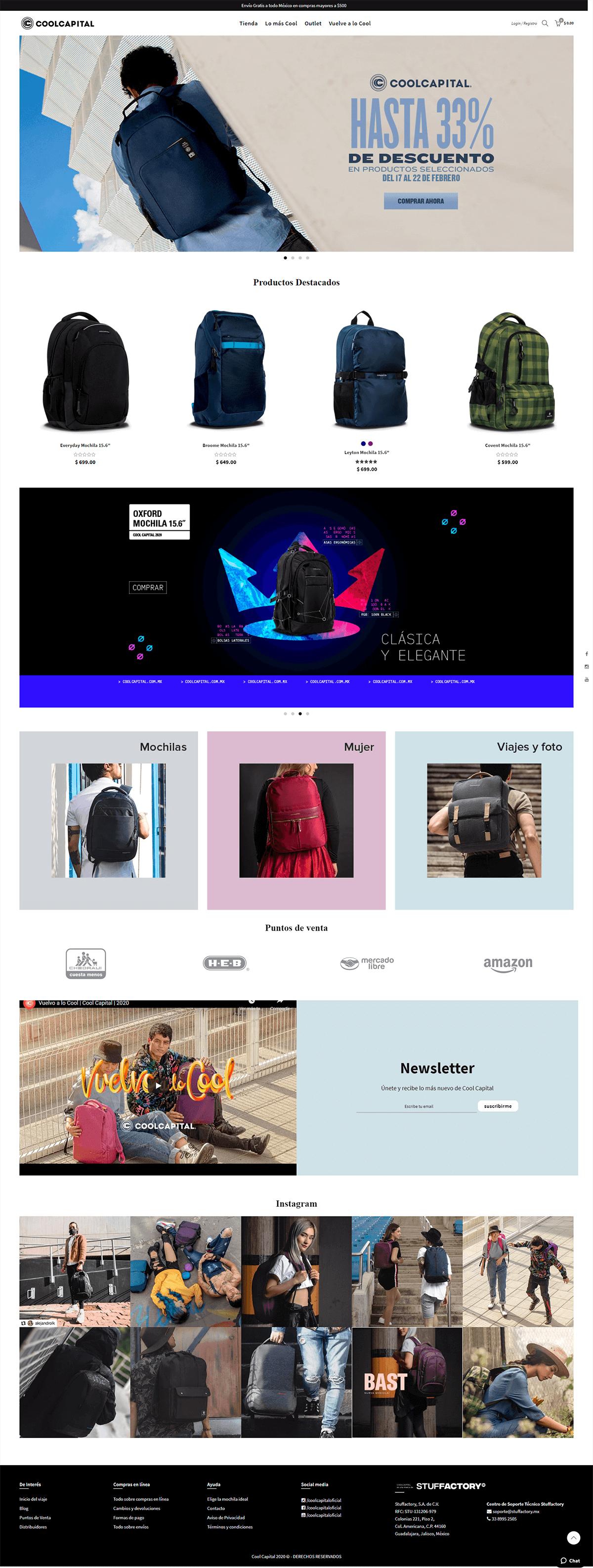 Rediseño CoolCapital Shopify 2